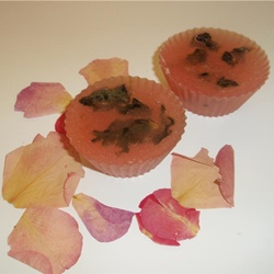 rose absoulte glycerin soap set of 2